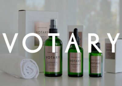 Votary: From brand strategy to naming architecture